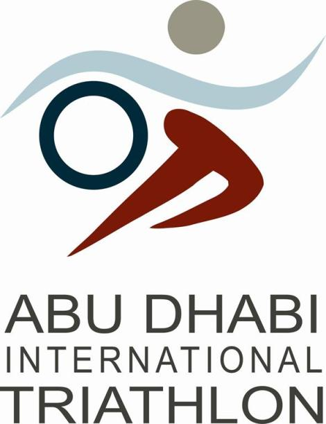 abu dhabi international triathlon logo