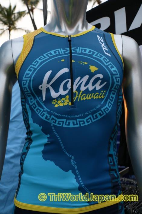 今年からオーストラリア発ブランド2XUも、コナ限定トライウェアを発売