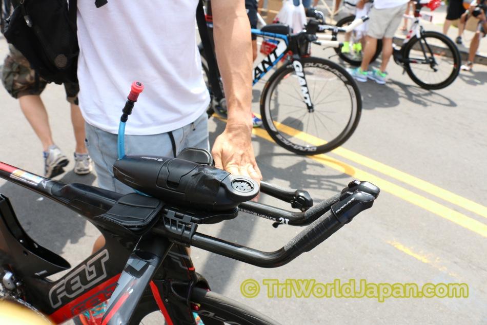 オーストラリア代表Tim Reedのバイクに搭載されているAeroZ