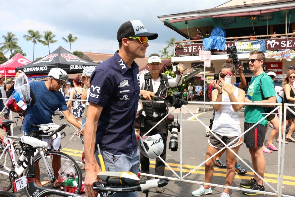 最速スイマーのアメリカ代表Andy Potts
